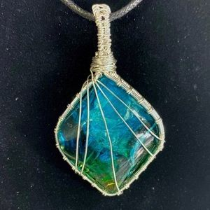 New Boho Ocean Pendant Necklace